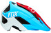 Fox Metah Graphics - Casque Homme - rouge/bleu